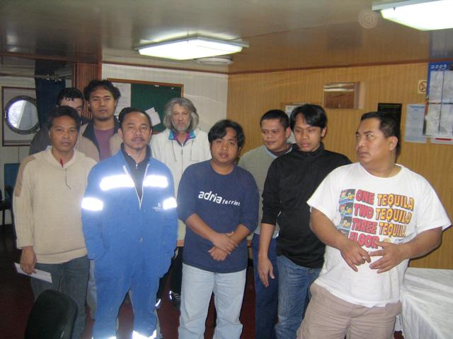 L'équipage de l'ITAL-RORO