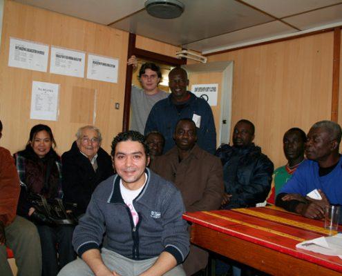 L'équipage du RIO TAGUS